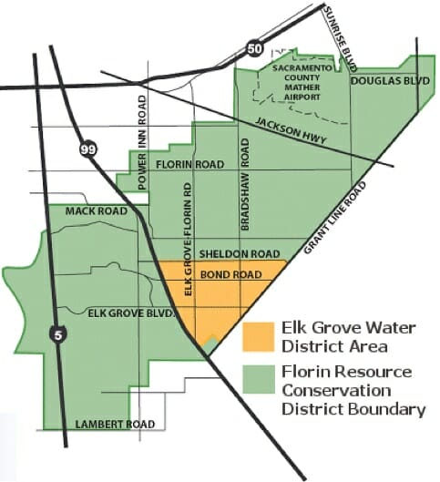 Elk Grove Water District Map